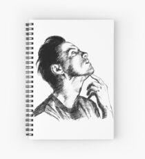 Andrew Scott scribble Spiral Notebook