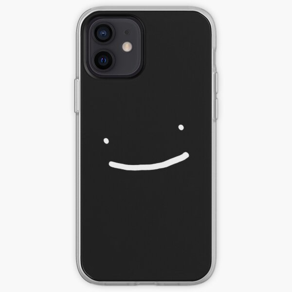 Dream SMP Smile Black iPhone Soft Case