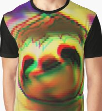 hypno sloth Graphic T-Shirt