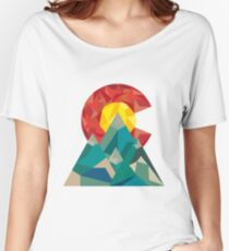 Colorado Geo Women's Relaxed Fit T-Shirt