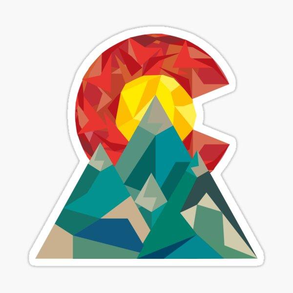 Colorado Geo Sticker