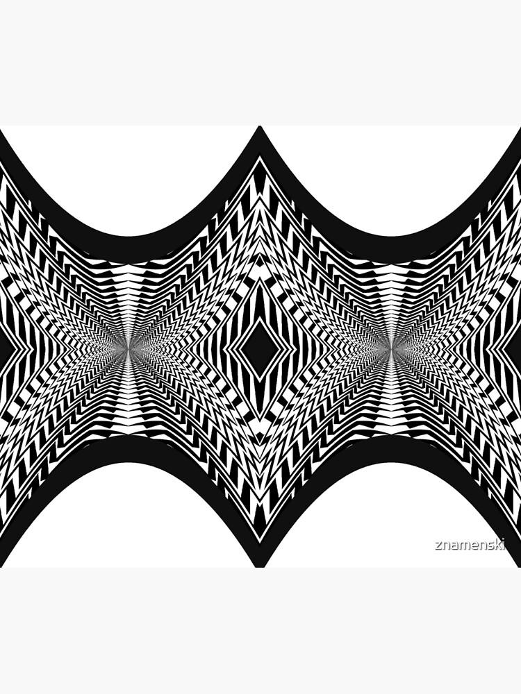 Black and White Pattern by znamenski