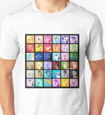 Pony Blocks Unisex T-Shirt