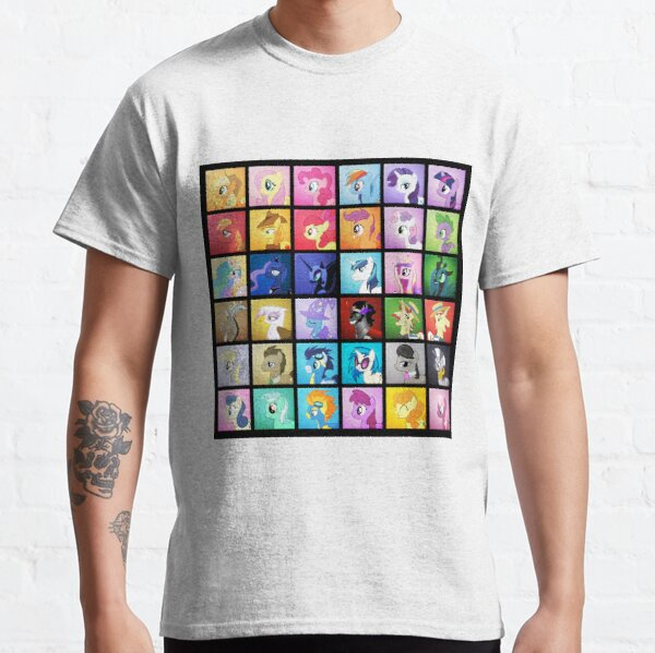 Pony Blocks Camiseta clásica