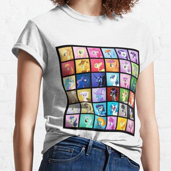 Blocs de poney T-shirt classique