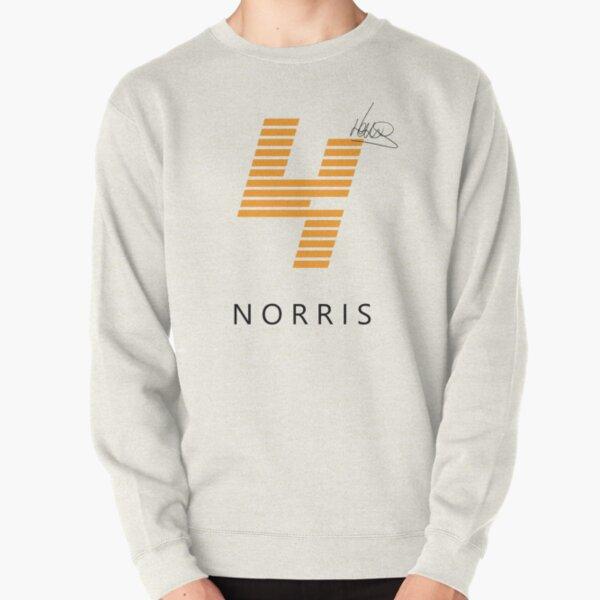 F1 Lando Norris Shirt Design (White) Pullover Sweatshirt