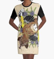 Fox and the Cradle Graphic T-Shirt Dress