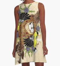 Fox and the Cradle A-Line Dress