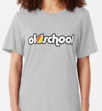 OLDSCHOOL (4) Slim Fit T-Shirt