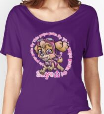 Flying Pup Women's Relaxed Fit T-Shirt
