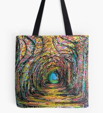A bunch of dots and lines Tote Bag