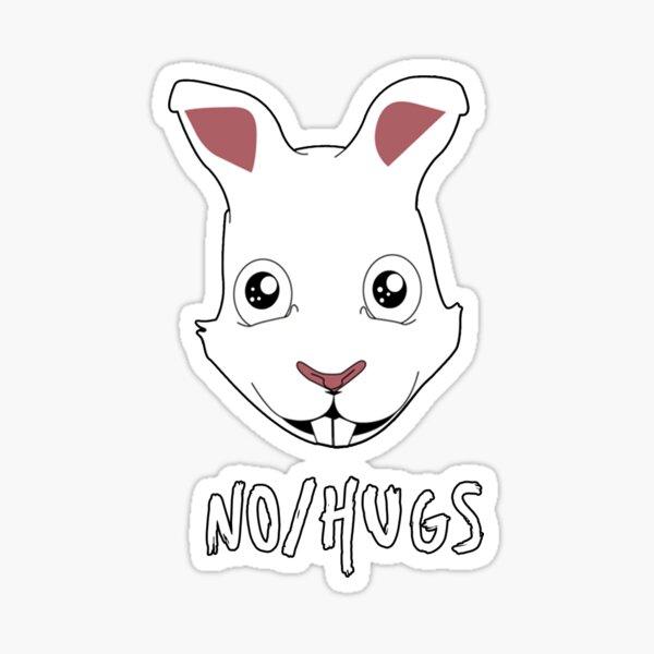 No/Hugs Sam  Sticker