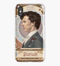 Sherlock Art Nouveau iPhone Case/Skin