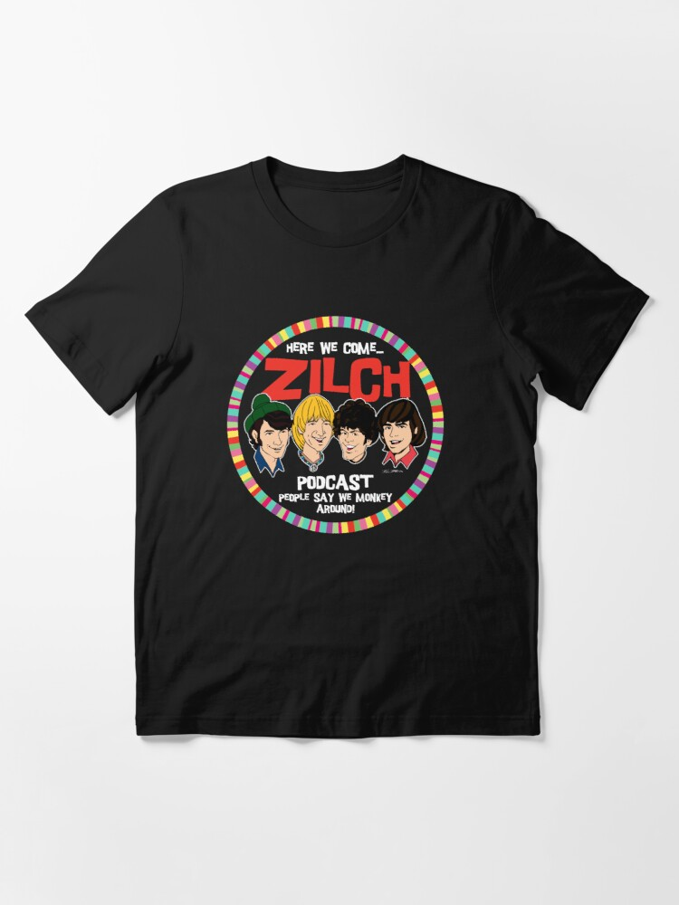 Alternate view of Zilch Podcast! Essential T-Shirt