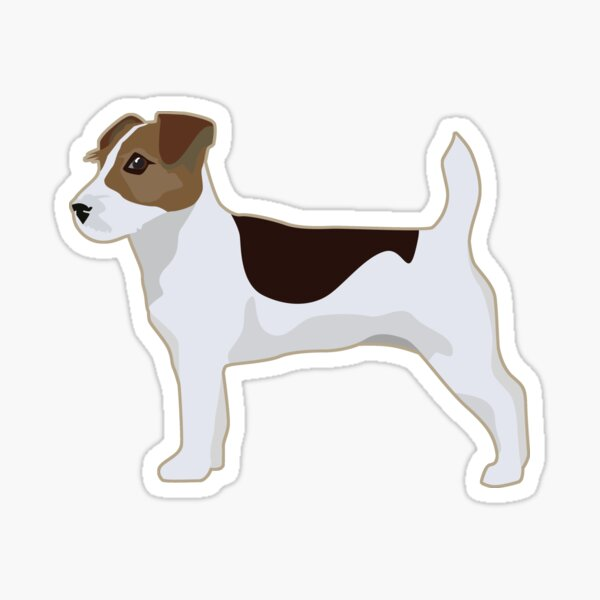 Jack Russell Terrier - Basic Breed Silhouette  Sticker