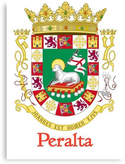 Peralta Shield of Puerto Rico by William Martin