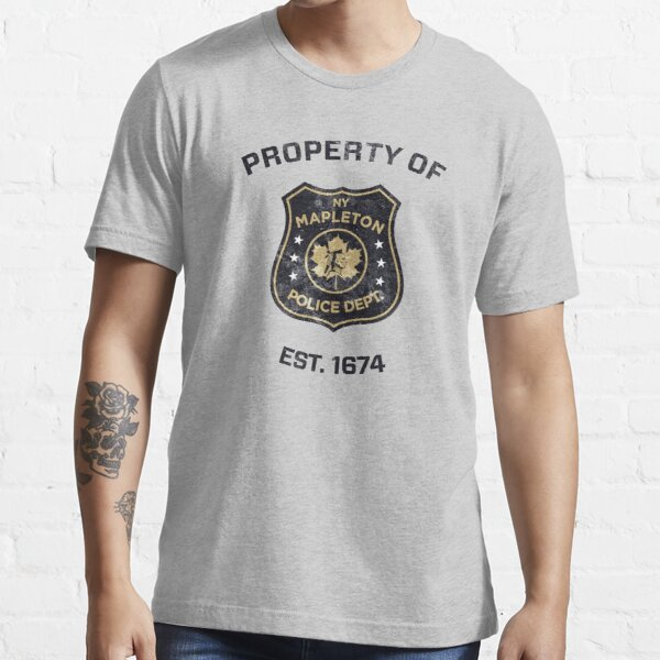 Property of Mapleton Police Dept. - The Leftovers Essential T-Shirt