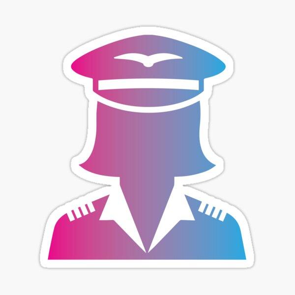 Captain Emily Sticker
