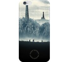 Lord of the Rings - Ring Design Blue iPhone Case/Skin