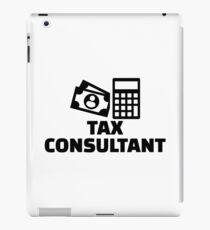 Tax consultant iPad Case/Skin