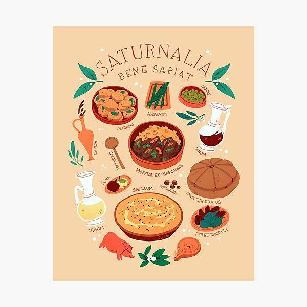 Saturnalia Feast Photographic Print