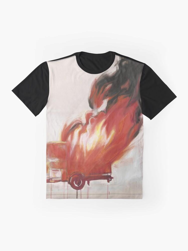 Alternate view of Burn Graphic T-Shirt