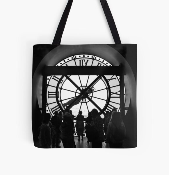 And Here Is Where Tourists And Time Stood Still... All Over Print Tote Bag
