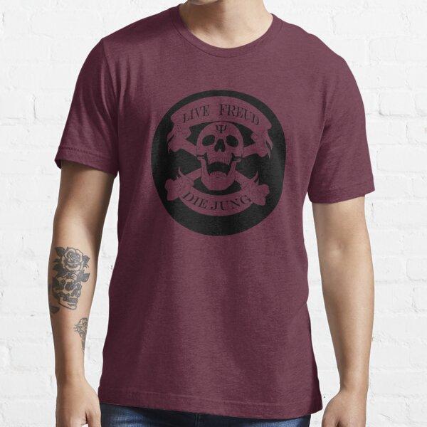 Live Freud, Die Jung (Crossbones) Essential T-Shirt