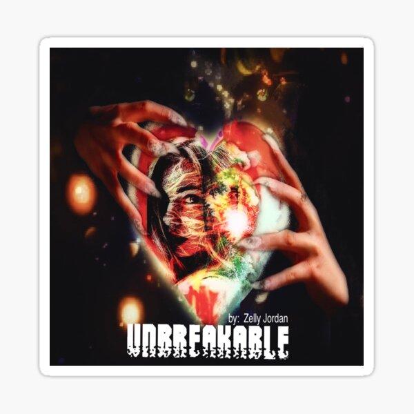 Unbreakable. Heart Held by Clawed Shadow Beast Sticker