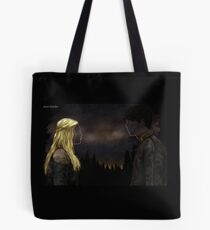 """The Princess and the King"" - Bellarke painting Tote Bag"