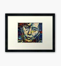 Aung San Suu Kyi Framed Print