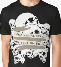 Nico di Angelo Protection Squad Graphic T-Shirt
