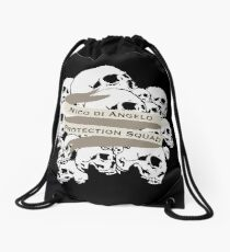 Nico di Angelo Protection Squad Drawstring Bag