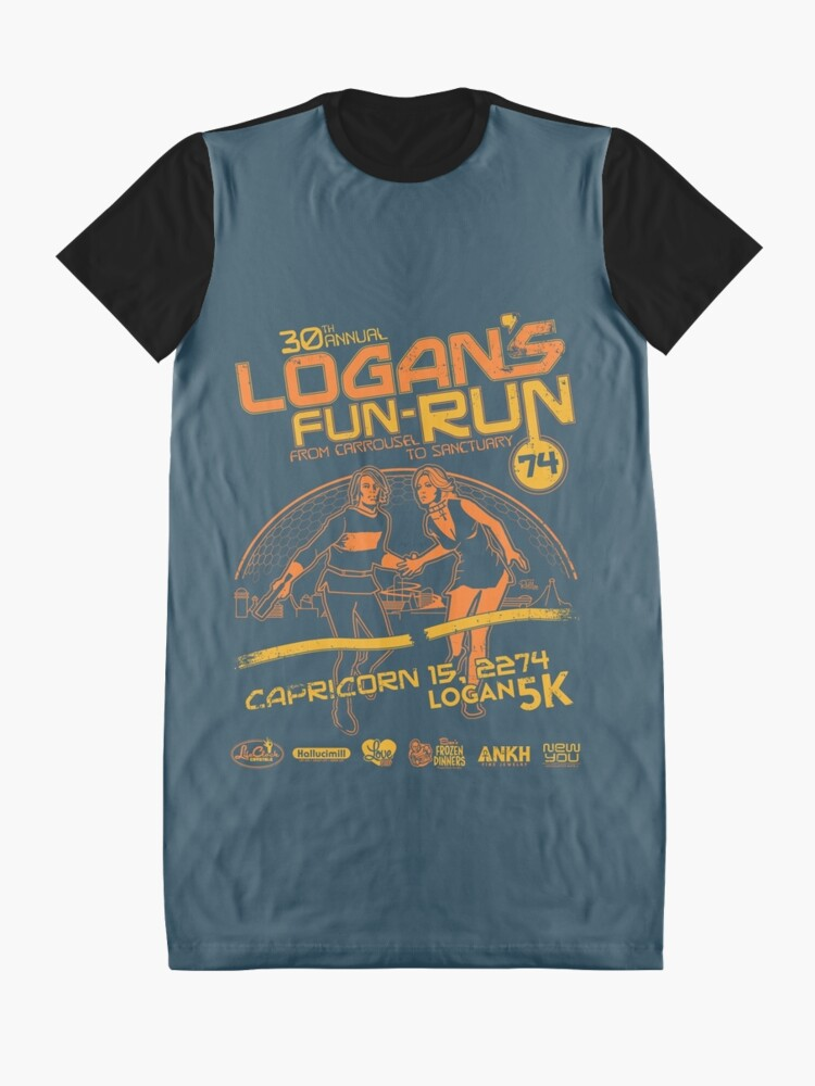 Alternate view of Logan's Fun-Run Graphic T-Shirt Dress