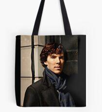 Sherlock at 221B Tote Bag