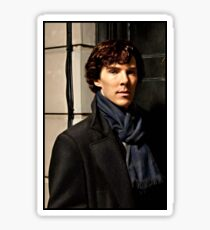 Sherlock at 221B Sticker