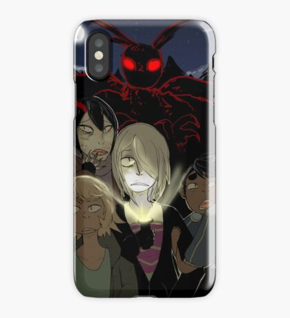 Attack of the Mothman iPhone Case/Skin
