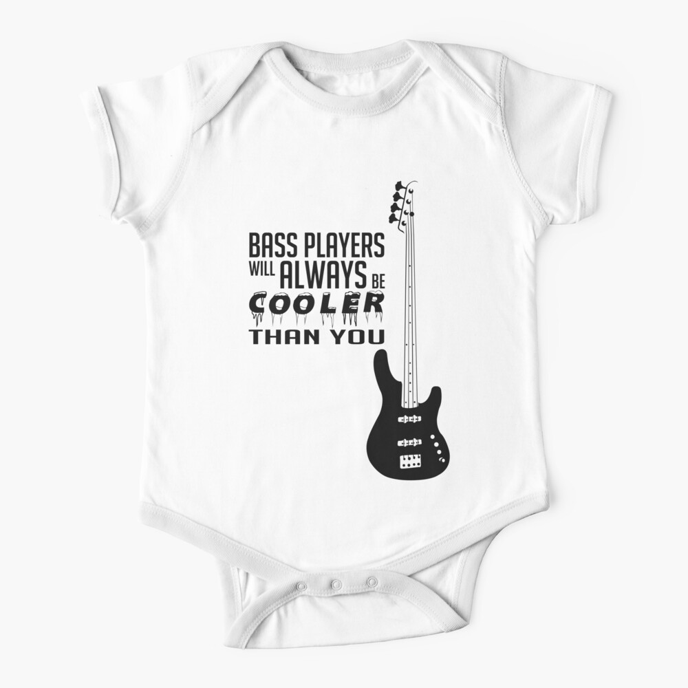 Bass Its Like Guitar But Cooler Boy Short-Sleeve T-Shirt