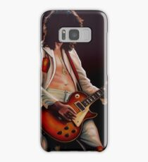 Jimmy Page In Led Zeppelin Painting Samsung Galaxy Case/Skin