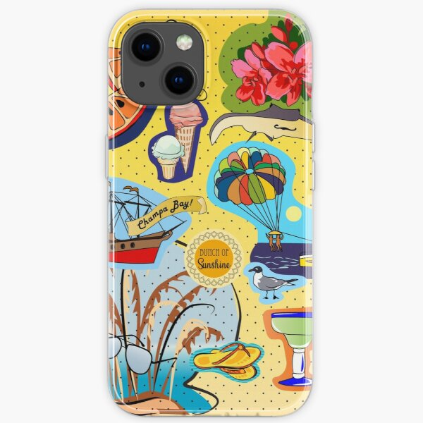 St. Pete Beach Allover iPhone Soft Case