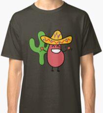 Little Mexican Jumping Bean - Cute Kids Cartoon Character Classic T-Shirt