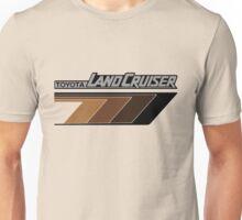 Land Cruiser body art series, brown arrows.  Unisex T-Shirt