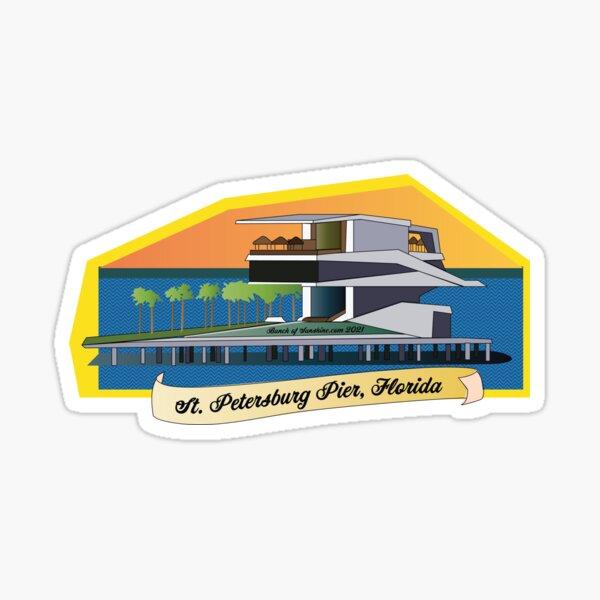 New St. Pete Pier  Sticker