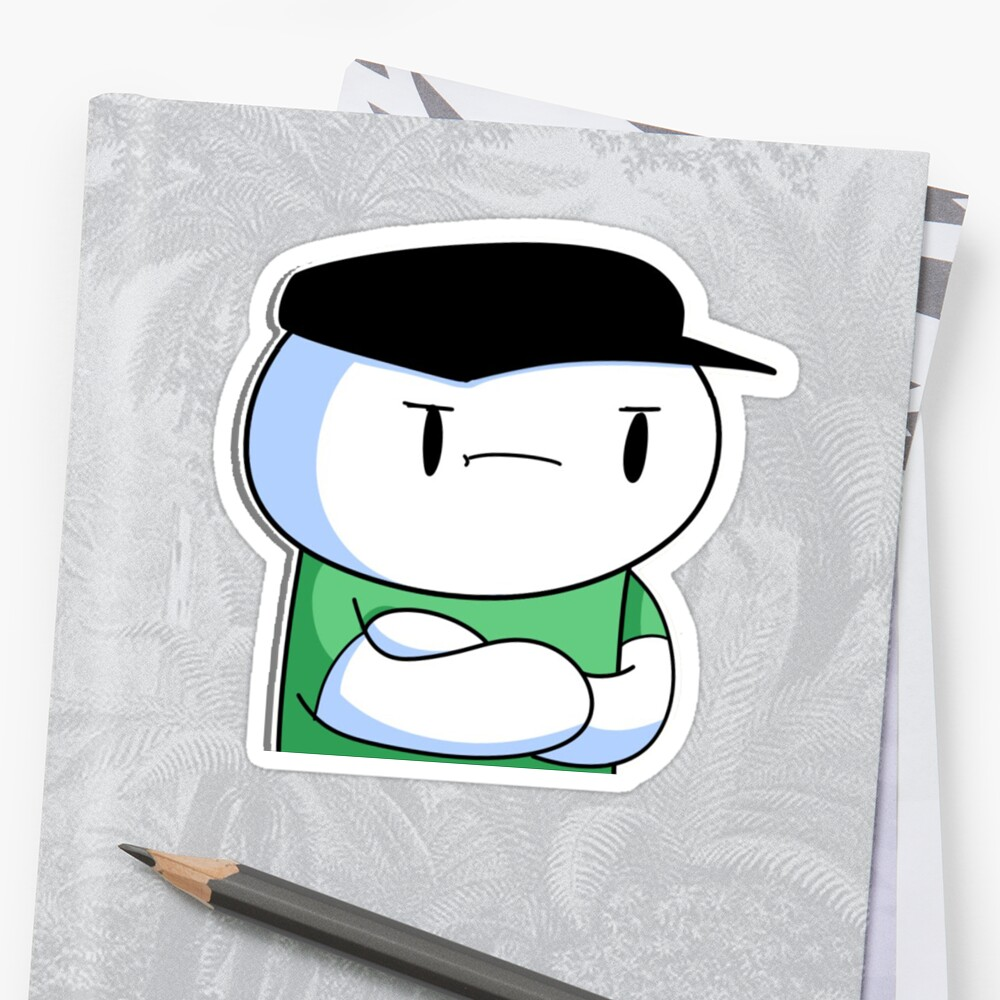 Quot Theodd1sout Working At Subway Quot Sticker By Raddie Redbubble