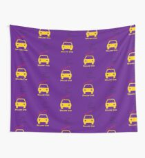 You Are Always Playing Yellow Car Wall Tapestry