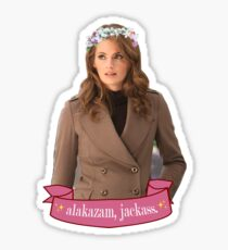 """Alakazam"" - Kate Beckett Sticker"