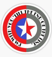 CATWS Shield Sticker