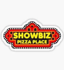 Showbiz Pizza Stickers Redbubble