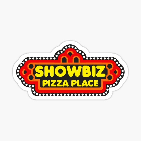 Showbiz Pizza Sticker