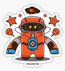 Spaceman  Sticker